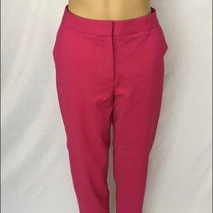 Karen millen pants size 6 pink color